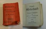 Deutsch-franzosisch. Liliput-worterbuch.