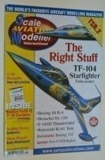 Scale aviation modeller international(Модели международной авиации в масштабе) Volume 15 Issue 1