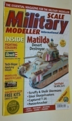 Scale military modeller internatonal. Matilda desert Destroyer