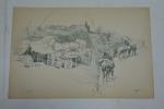 Картины из папки `Маневры в Юго-западном крае в 1890 году`. Картина 1.