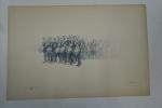 Картины из папки `Маневры в Юго-западном крае в 1890 году`. Картина 6.