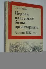 Первая классовая битва пролетариата. Англия, 1842 год.