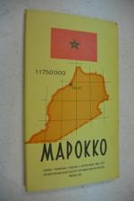 Марокко.1:1 750 000.(Брошюра и карта).