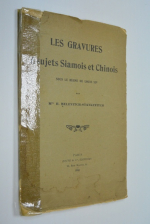Les gravures a sujets Siamois et Chinois sous le regne de Louis XIV