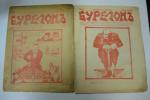 Бурелом. №1   26 ноября, №2  4 декабря  1905 г. Еженедельный литературно-сатирический журнал.